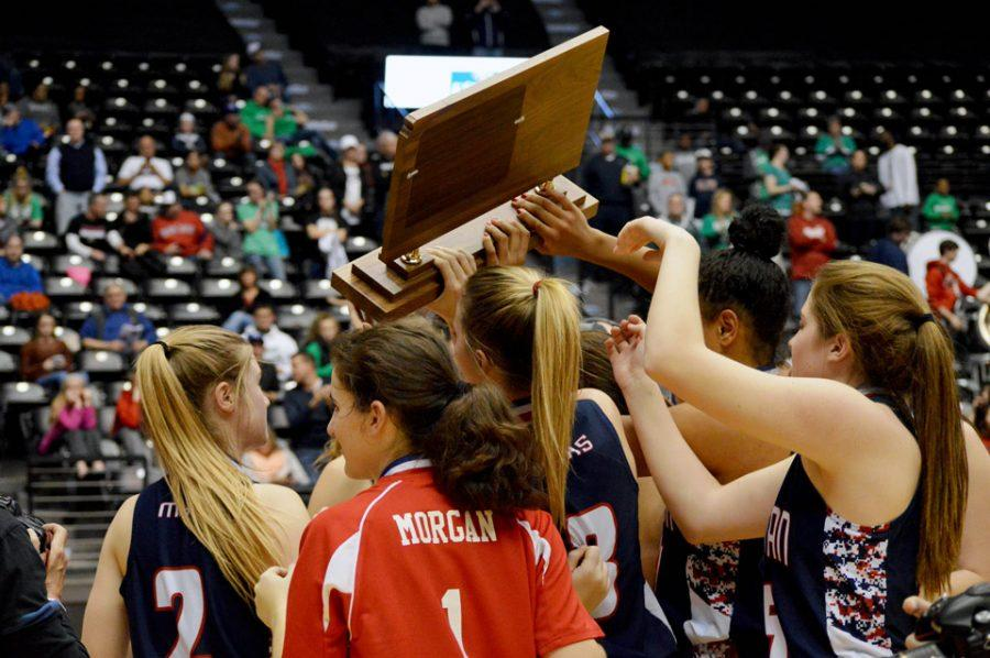 State Champs:  Girls beat Derby, win first state title in school history