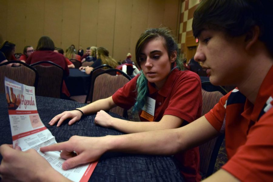 Manhattan High FCCLA receives high recognition at national cluster meeting