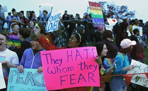 Students block out Westboro with counter-protest