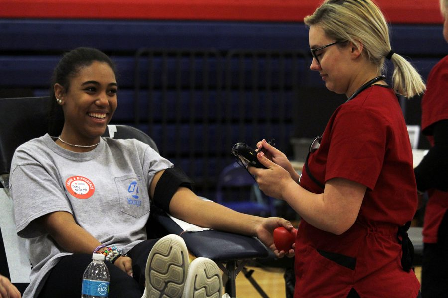 Student Council hosts Red Cross blood drive