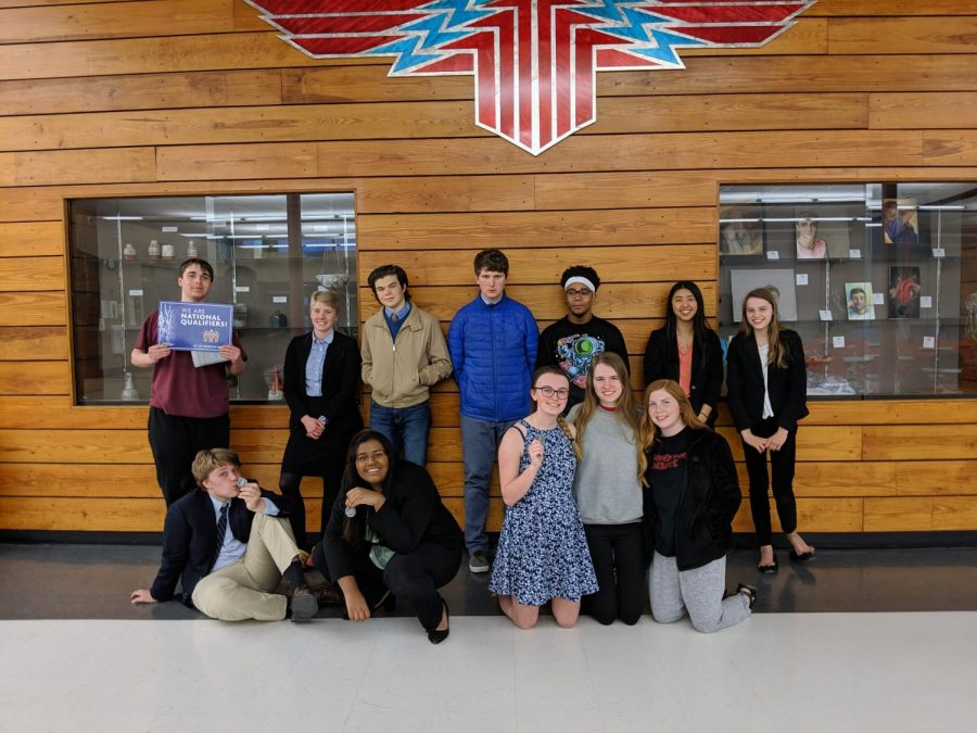 Forensics take home success at National Qualifiers
