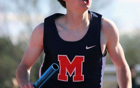 Track takes double first place finishes, breaks school record