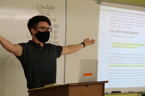 New teachers navigate hybrid