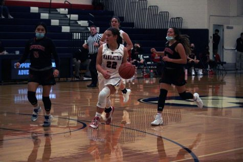 Girls basketball wins season starter