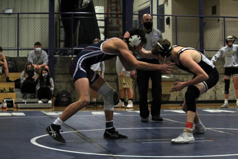 Wrestling defeats Great Bend, competes at Riley