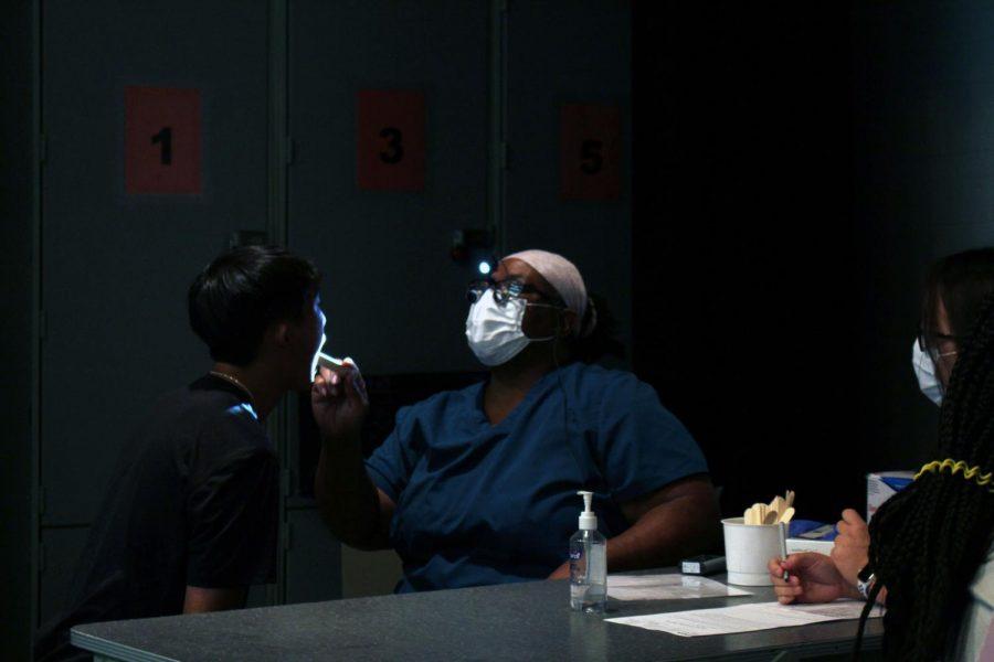 Konza Dental Clinic screens students teeth